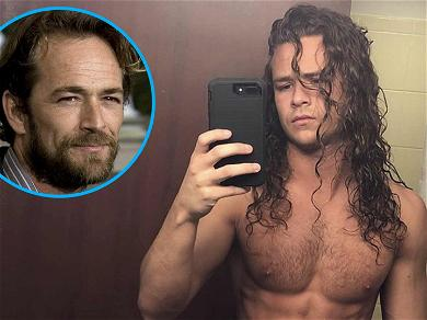 Luke Perry's Wrestling Son Is Ripped, Shows Off Insane Six-Pack