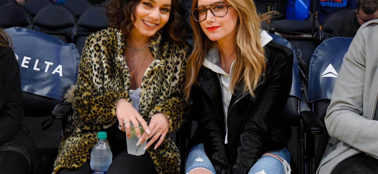 """Ashley Tisdale & Vanessa Hudgens Recreate """"We're All In This Together"""""""