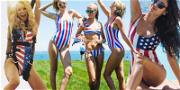Famous Babes in Bikinis Celebrating Fourth of July, Because 'Merica!! ??