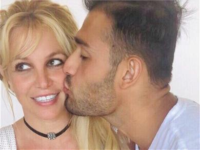 Britney Spears' In Choke Hold With Sam Asghari On Instagram?
