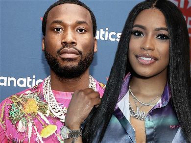 Meek Mill Shares First Shot Of Pregnant Girlfriend Milan Harris, Wants To Be a Girl Dad!