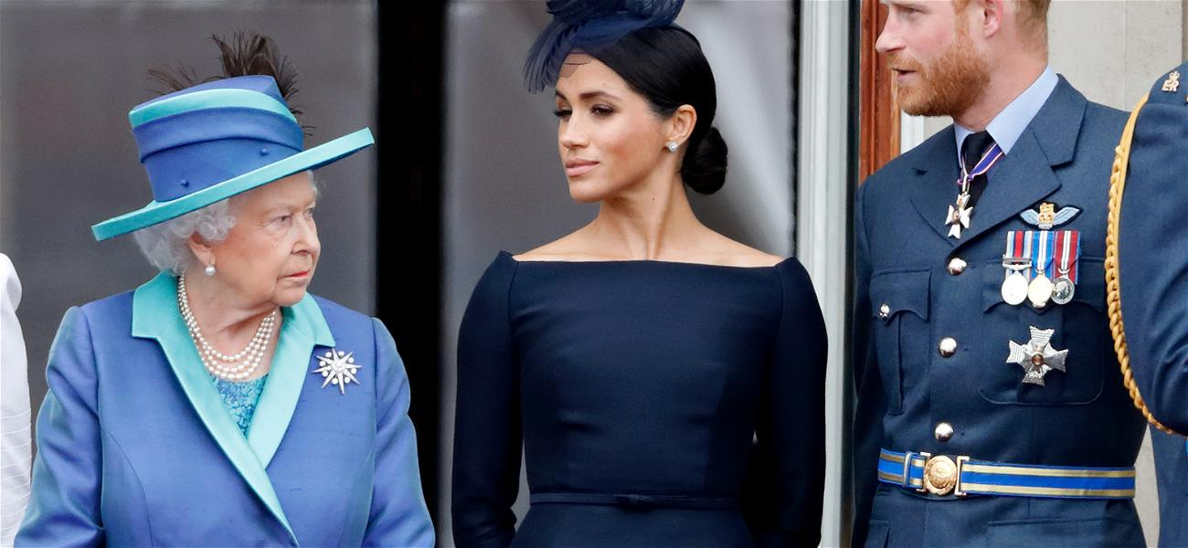Palace Implies Meghan Markle & Prince Harry Are Divorced In Embarrassing Blunder