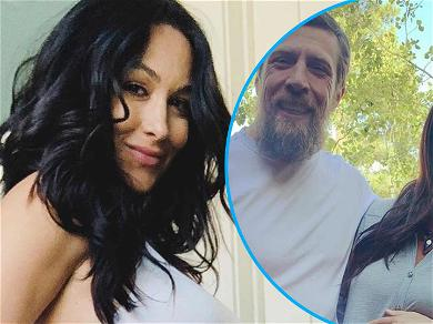Brie Bella Shares Huge Bumpin' Family Pic And Fans Try To Guess Her Baby's Gender