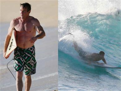 Dennis Quaid Is Having a Swell Time Surfing in Hawaii