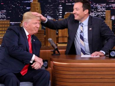 Donald Trump Slams Jimmy Fallon Over Hair-Ruffling Regrets: 'Be a Man Jimmy!'