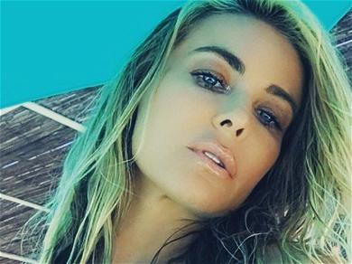 Carmen Electra Washes Off 2020 With Exposing Shower