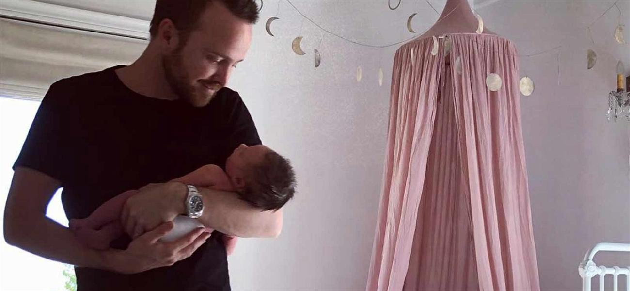 It's a Baby Story! Aaron Paul's Baby Name Is Revealed, You'll Never Guess What It Is!