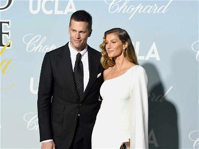 Tom Brady Back to Work to Support Gisele … for Science!