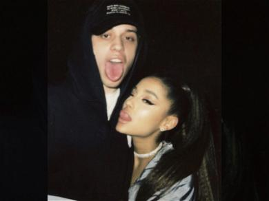 Ariana Grande Says She's Not Pregnant With Fiancé Pete Davidson's Baby, Yet