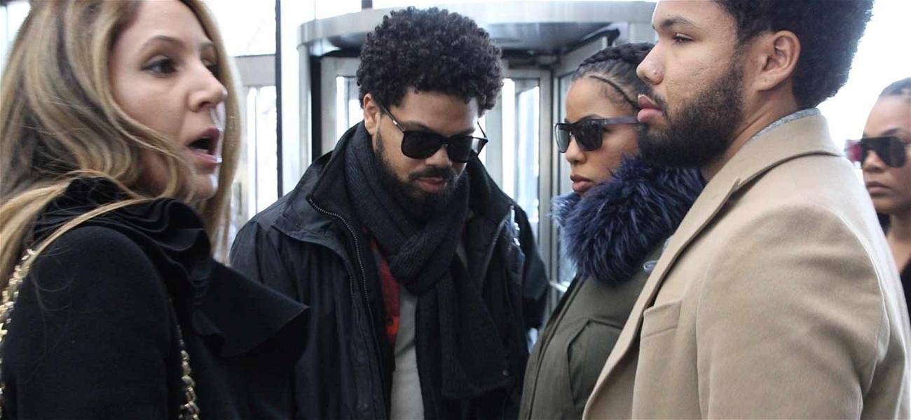 Jussie Smollett's Family Arrives at Court to Support Actor for Bail Hearing