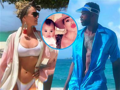 Khloé Kardashian & Tristan Thompson's First Family Vacay Was True-ly Adorable