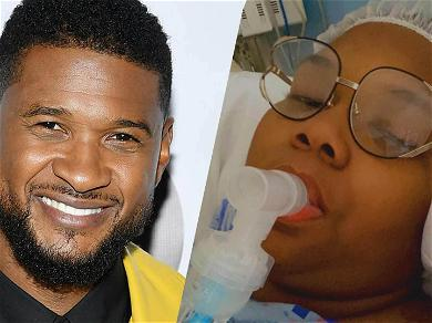 Singer Usher's Herpes Accuser Quantasia Undergoes Weight Loss Surgery, Down From 454 Lbs