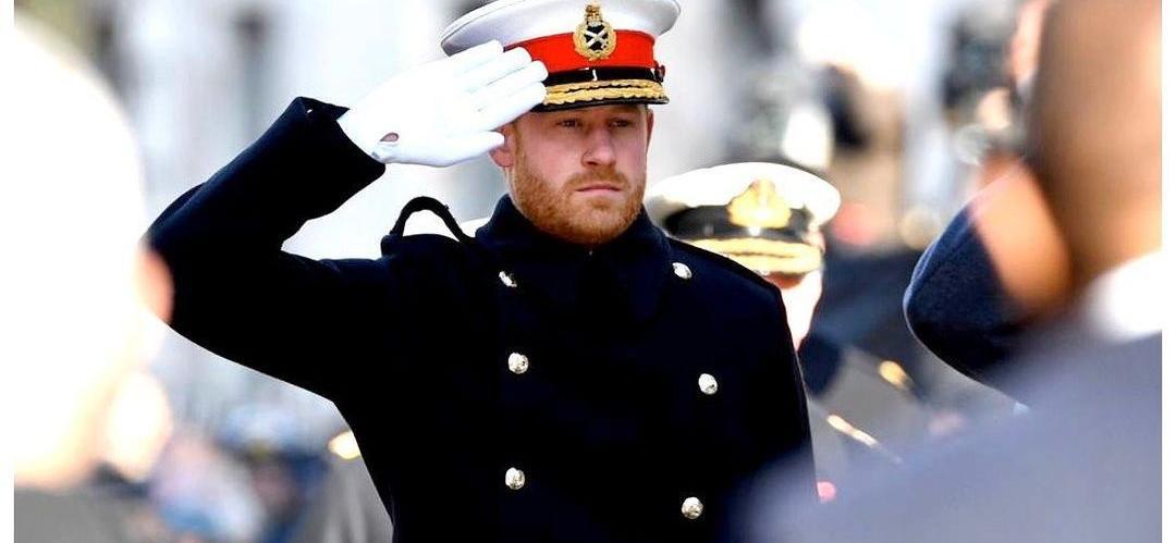 PrinceHarry Meets His New-Born Nephew Ahead Of Prince Philip's Funeral