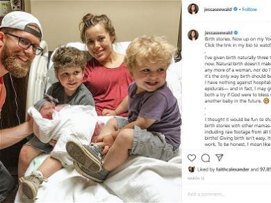 Jessa Duggar Talks About Child, Ivy Jane