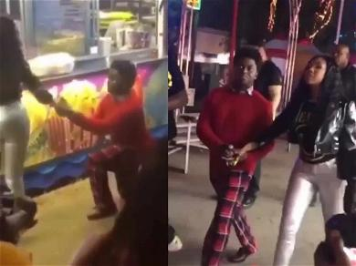 Kodak Black Proposes to Yung Miami for New Music Video
