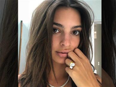 Emily Ratajkowski Finally Shows Off Her Huge Engagement Ring