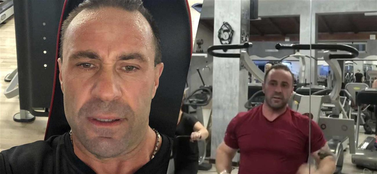 Joe Giudice Finds Solace In The Gym After Separating From Teresa After 20 Years Of Marriage
