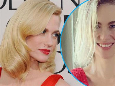 January Jones 'Squeezed' Into Her Iconic Golden Globes Versace Dress 10-Years Later
