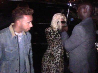 Nicki Minaj & Lewis Hamilton Rev Up Dating Rumors With Night Out in NYC