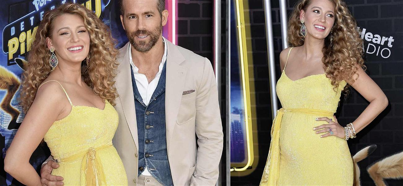 Surprise! Blake Lively and Ryan Reynolds Are Expecting Baby #3