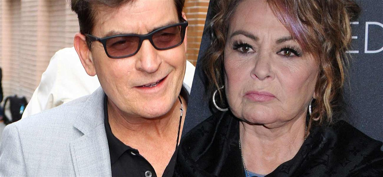 Charlie Sheen Tries to Move in On 'Men' Reboot After 'Roseanne' Gets Dumped