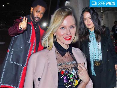 It's Jacket Weather! Big Sean, Salma Hayek & Naomi Watts Bundle Up