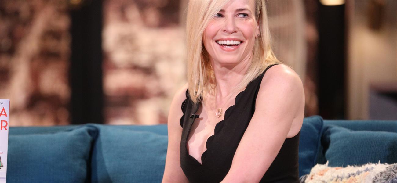 Chelsea Handler Gives Tutorial On Bra Masks