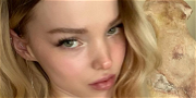 Dove Cameron Rocks Cotton Candy Pink Hair For  Stunning Birthday Selfie