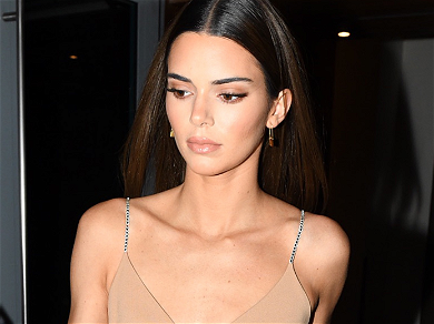 Fears For 'Skeletal' Kendall Jenner In Bizarre Drenched Street Outing
