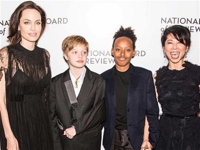 Shiloh Jolie-Pitt Rocks a Sling Posing Alongside Angelina Jolie on the Red Carpet