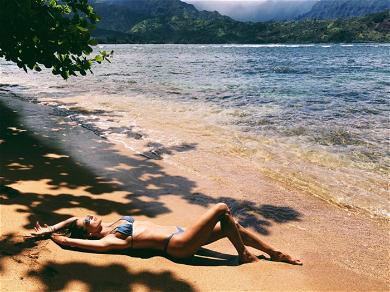 Alessandra Ambrosio's Sexy Bikini Shots
