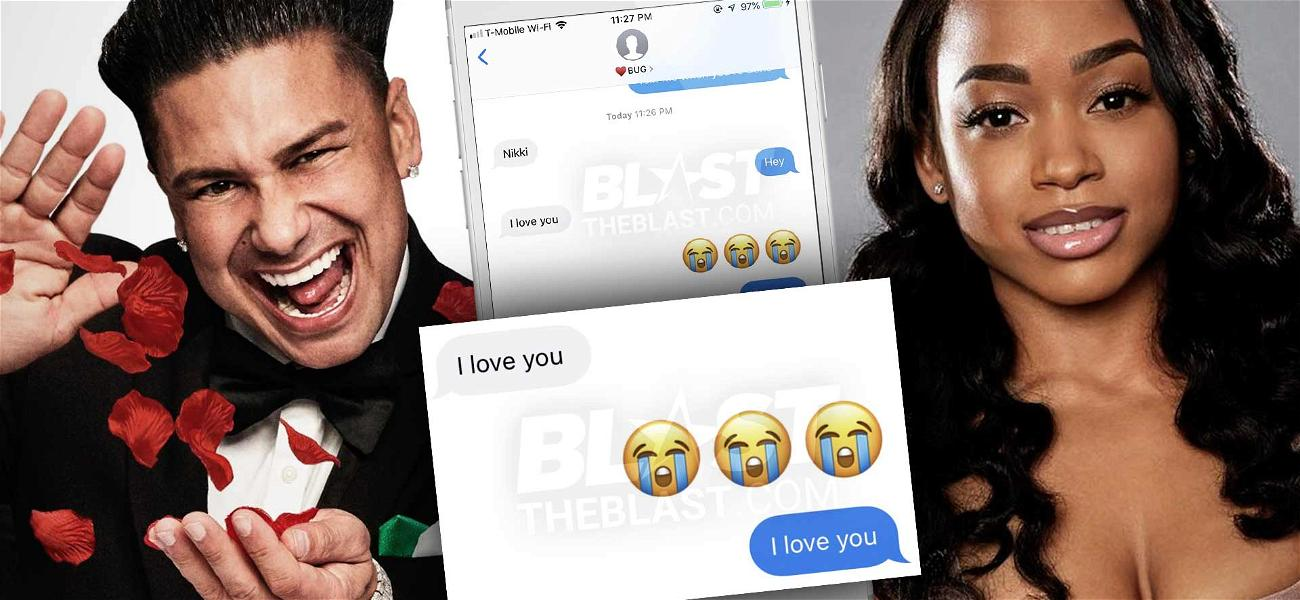 'Double Shot at Love' Star Pauly D's Private Texts Exposed By Nikki Hall: 'I Love You'