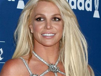 Britney Spears Completely See-Through For Kissing Surprise
