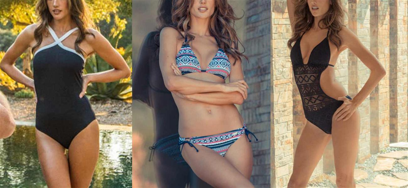 Alessandra Ambrosio's Comin' In Hot For New Bikini Gig