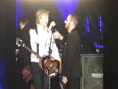 Paul McCartney Reunites With Ringo Starr at Dodger Stadium Concert
