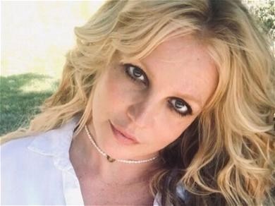 Britney Spears Is The Original In Unbuttoned Shirt From Backyard