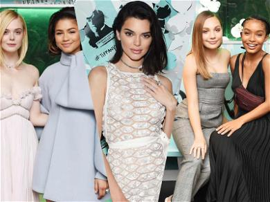 Hailey Baldwin, Zendaya and Elle Fanning Take Over Tiffany & Co. Event With Young Stars