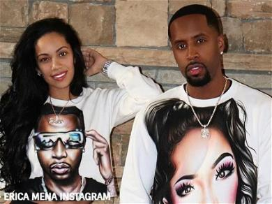 'Love & Hip Hop' Star Erica Mena Files For Divorce From Safaree Samuels Despite Recent Pregnancy Announcement