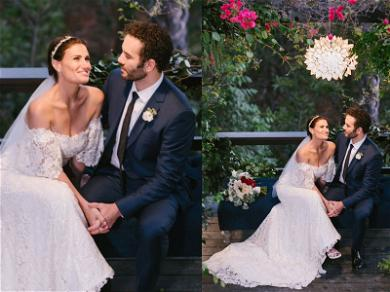 Idina Menzel Marries 'Mighty Ducks' Star