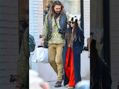 Jason Momoa and Lisa Bonet Have Locks of Love for Each Other