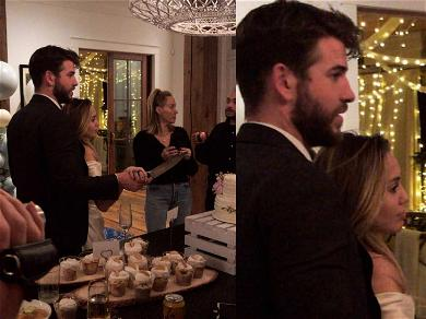 Miley Cyrus and Liam Hemsworth Sure Look Like They Got Married
