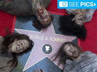 'Night of the Living Dead' Creator Gets Star on Walk of Fame, and Zombies