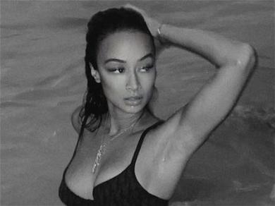 Draya Michele Gets Wet In Bikini For Steamy Beach Photoshoot