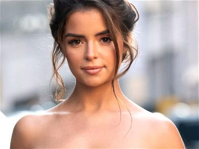 Demi Rose Elevates Herself With Lowered Swimsuit Neckline