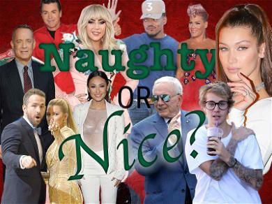 Santa's Celebrity Naughty & Nice List for 2017