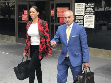 'Basketball Wives' Star Gloria Govan Shows Up to Court to Fight for Children, Barnes Gets Order Granted