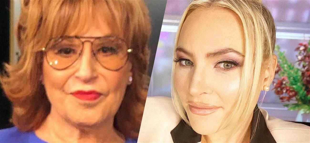 Joy Behar & Meghan McCain Get Into Nasty Fight On 'The View'