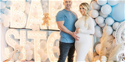 'Jersey Shore' Star Mike The Situation's Baby Shower Included COVID-19 Testing, Custom Masks!