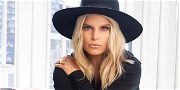 Jessica Simpson Exposes Snatched Waist In All Denim