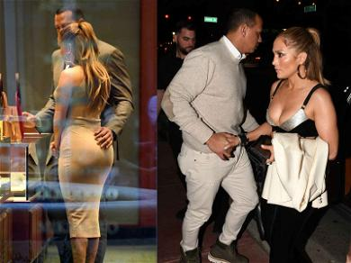JLo Gets a Helping Hand from A-Rod While Picking Out Bling